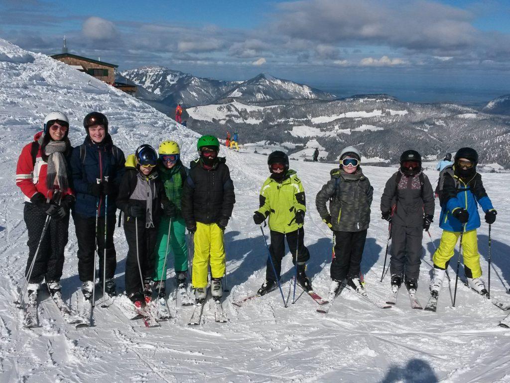Skilager in Kössen
